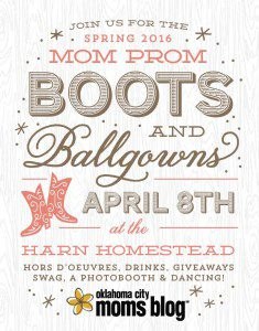 OKC Moms Blog Mom Prom