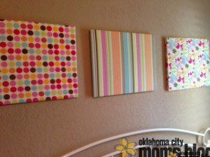 Covered canvases can spruce up any room!