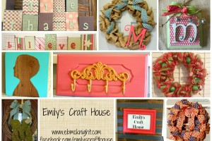 Emily's Craft House Collage