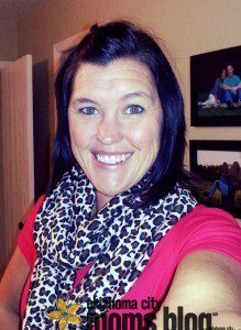 Inexpensive top paired with a leopard print scarf