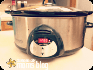 Set slow-cooker for 10-12 hours.