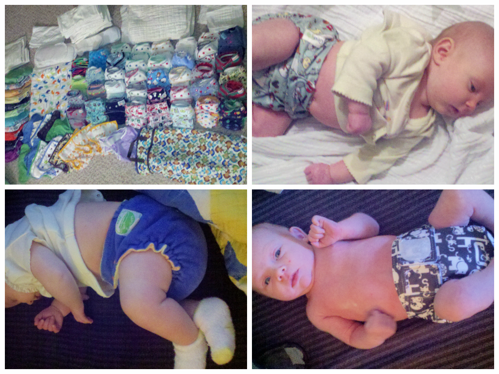 Cloth diapering alternatives and modern cloth diapers