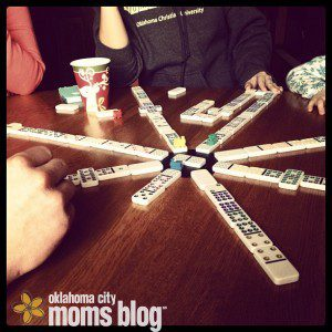 Our family loves spending time together by playing games, telling stories, and laughing!