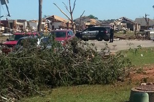 This is near my parents house. 4th Street in Moore.