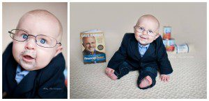 That one time I dressed my son up as Dave Ramsey for his first halloween.