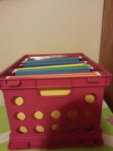 Organized container for each child