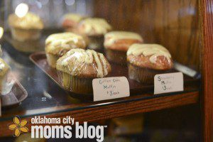 Brown's Bakery and Ingrid's Kitchen make the sandwiches and pastries.