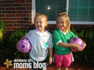One day I can remind them they actually played soccer and loved it!