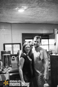 Alan and Carie, the owners of Vintage Coffee