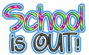 School's out graphic