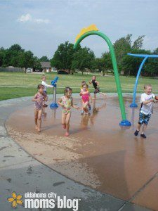 Splash Pads keep you cool in the summer and are oh so much fun!