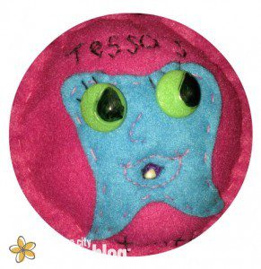 Tooth Pillow Front Cutout
