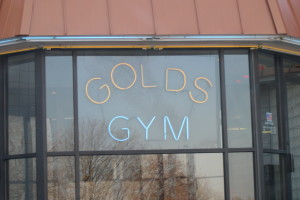 outside of gym