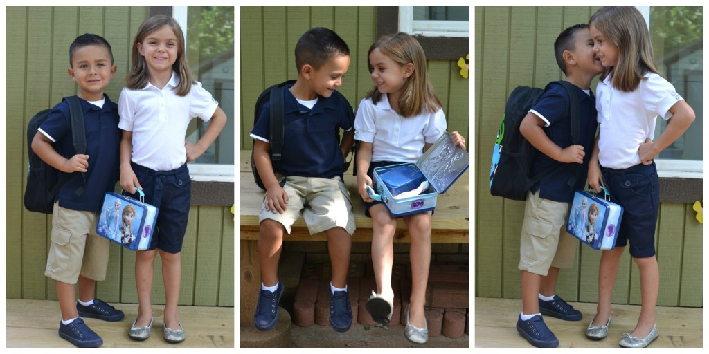 Back to School: Uniform Fashion with French Toast {Giveaway!}