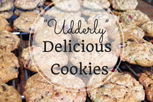 A recipe for lactation cookies