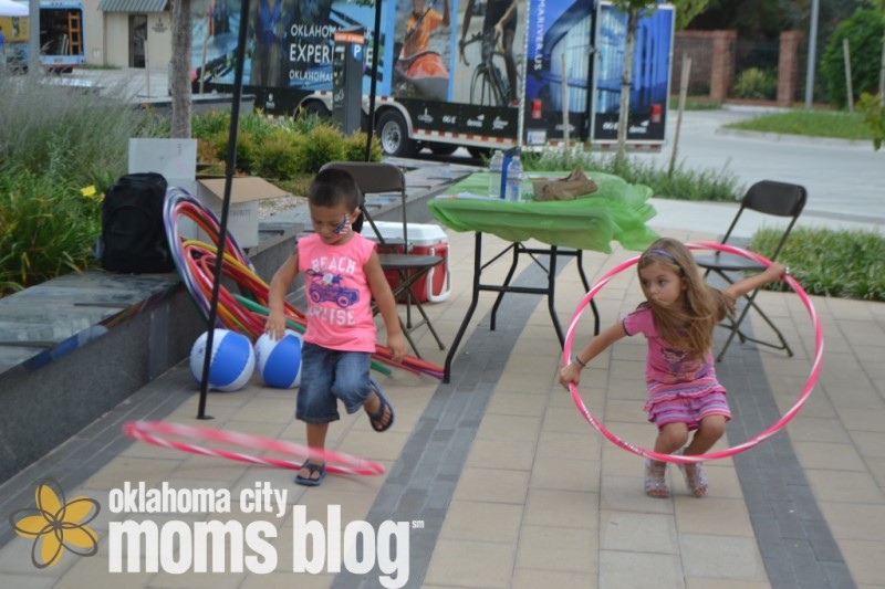 You may have great birthing hips...but can you hula hoop with them and beat your child in a contest?