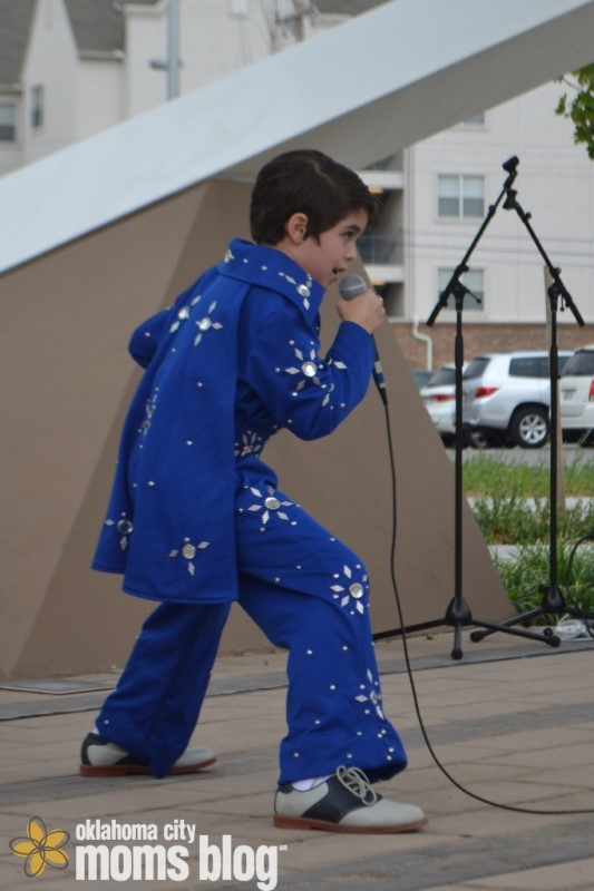 Even Elvis was seen at Wiggle Out Loud last year!