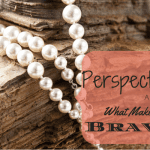 Perspective and What Makes Me Brave