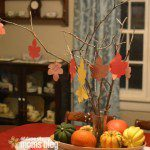 Thankful Tree Centerpiece