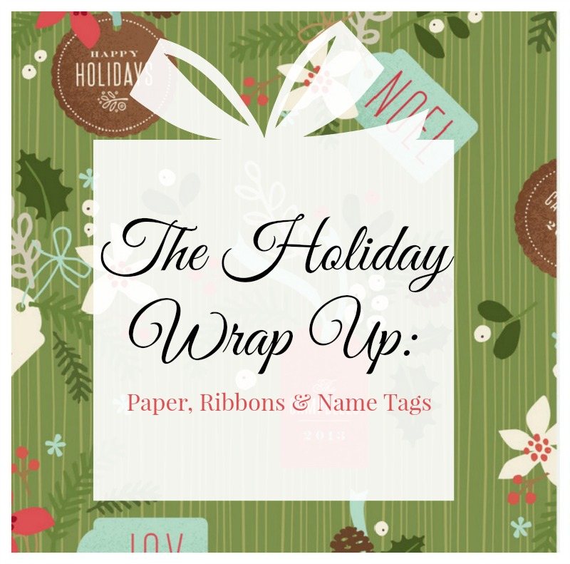 Holiday Wrap Up
