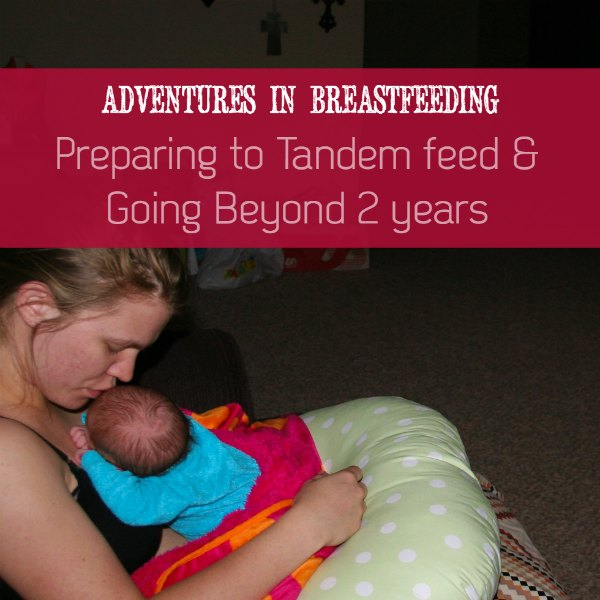 How to prepare to tandem nurse a toddler and breastfeed a newborn | ALLterNATIVElearning.com for OKC Moms' Blog