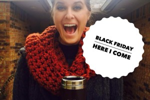 """This is what a Black Friday person who isn't """"crazy"""" looks like. Pretty sure we all know this person!"""