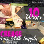 How to Increase your Milk Supply