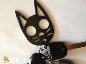 Cat Self-defense Keychain goes with me everywhere.