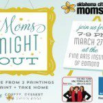 Moms Night Out at the Fine Arts Institute of Edmond!