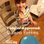 Toddler Approved Lunch Recipe – Quinoa Patties
