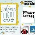 Moms Night Out at The Fine Arts Institute {Recap!}