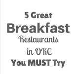 5 Great Breakfast Restaurants in Oklahoma City You Must Try