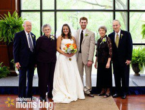 How lucky am I that I had both sets of grandparents at my wedding?!