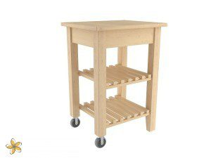 Kitchen cart from IKEA.