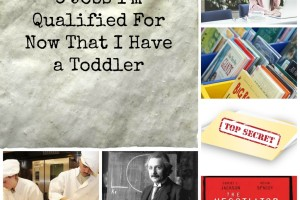 Toddler Jobs