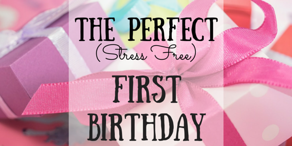 first birthday party planning