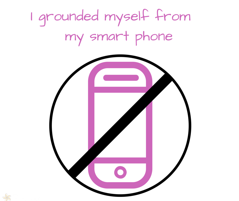 I grounded myself from my smart phone (1)