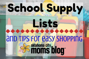 Metro School Supply lists