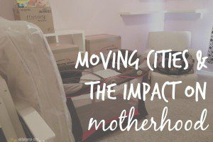 moving cities as a mom