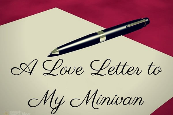 A Love Letter to My Minivan