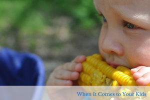 Kids Deserve the Best: What matters most when it comes to your kids? Food and a healthy diet are essential for healthy, happy, active children. With a good diet, all else will follow.