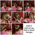 8 Quick & Easy Back-to-School Hairstyles for Girls