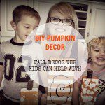 DIY PUMPKIN DÉCOR