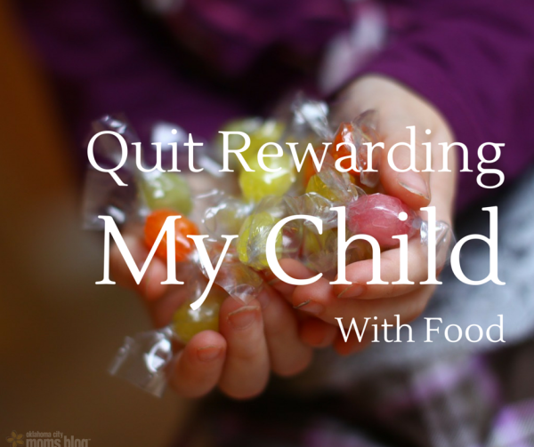 Quit Rewarding My Child With Food