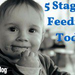 5 Stages of Feeding a Toddler