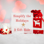 Why My Kids Only Get Three Gifts for Christmas