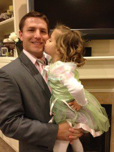 My oldest daughter and her prince charming before their first Daddy/Daughter event.