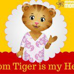 Mom Tiger is My Hero