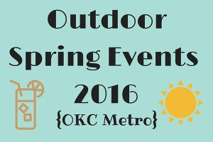 Outdoor Spring Events 2016