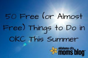 50 Free (or Almost Free) Things to Do in OKC This Summer